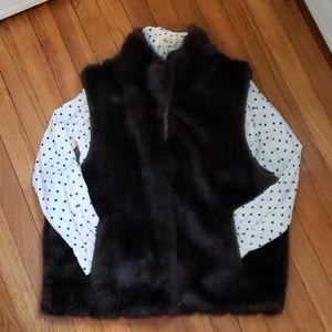 🔥 Vegan Mink reversible vest